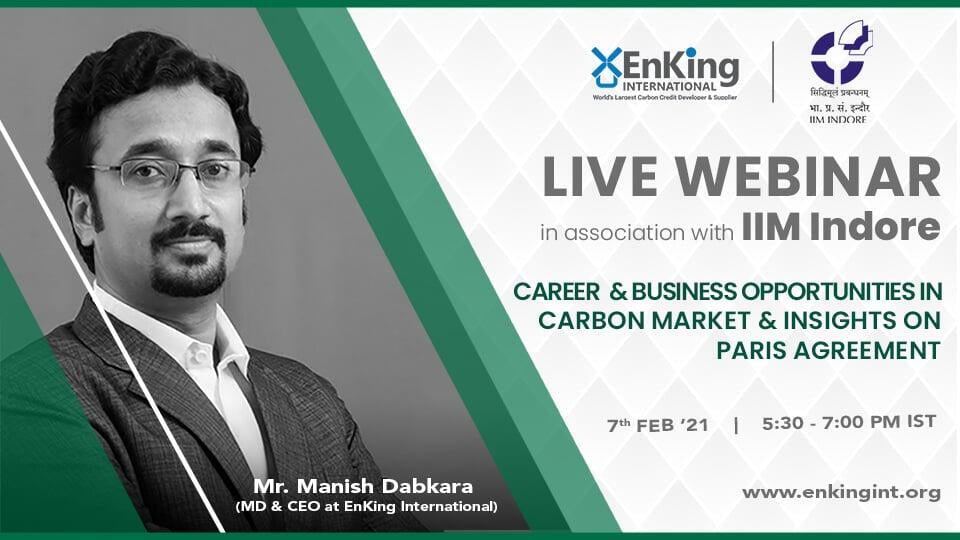 career & business opportunities in carbon market & insights on paris agreement