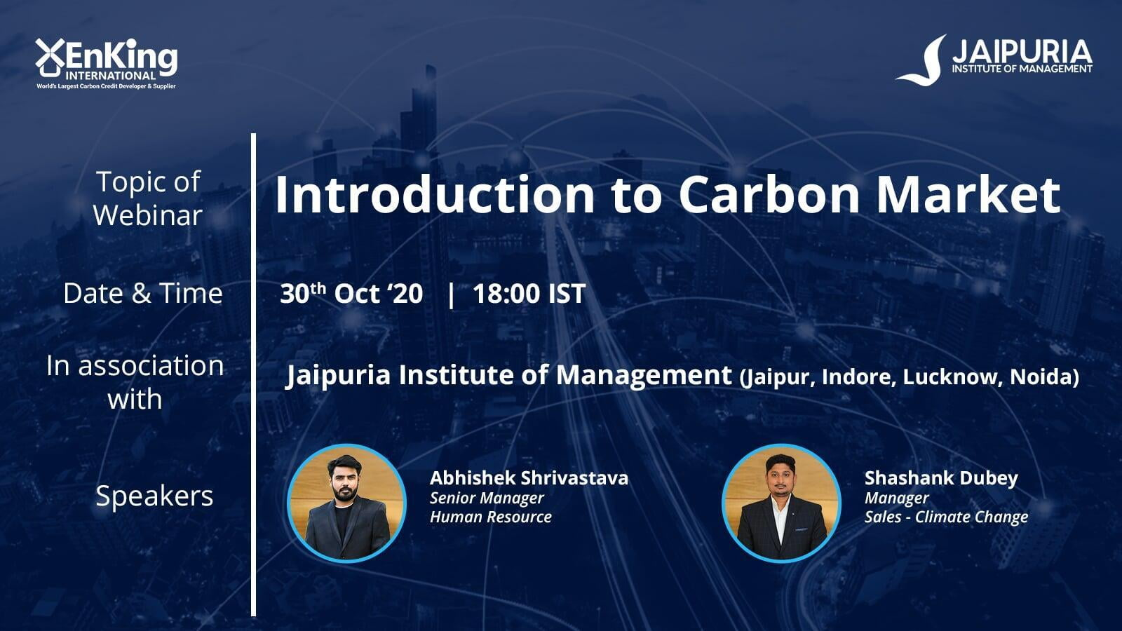 Introduction to Carbon Markets